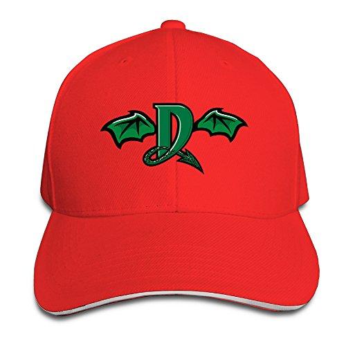 Illinois State Red Birds Baseball - Fashion Baseball Team Dayton Dragons Adjustable Visor Sandwich Caps Red