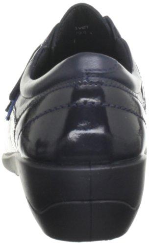 Ballerines Bleu Femme navy Velvet Padders 612 6xqTRR