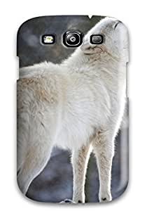 Premium Arctic Wolf Back Cover Snap On Case For Galaxy S3