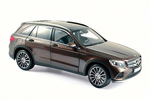 2015 Mercedes-Benz GLC, Brown Metallic - Norev 183487 - 1/18 Scale Diecast Model Toy Car