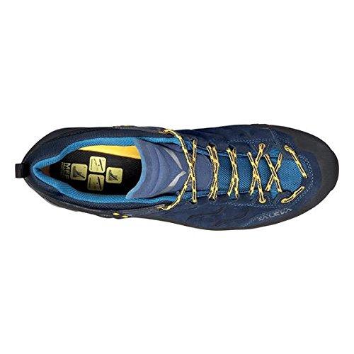 Dames Salewa Ws Formateur Mtn Gtx Trekking Et Chaussures De Randonnée Moitié Noir (carbone / Pagode 0787)