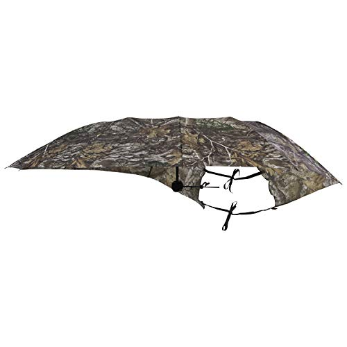 Allen Company Camo Treestand Umbrella and Cover, 57 inches Wide, Realtree Edge and Next G2 Camo