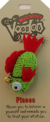 [Watchover Voodoo Pisces Doll, One Color, One Size] (Voodoo Doll Costume Child)