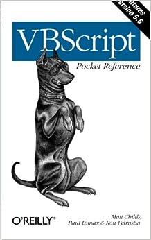 Book VBScript Pocket Reference