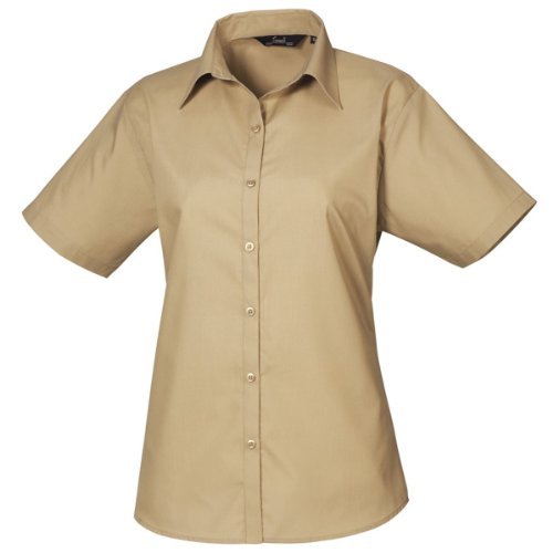 Premier Workwear - Camisa - Mujer Beige beige 38