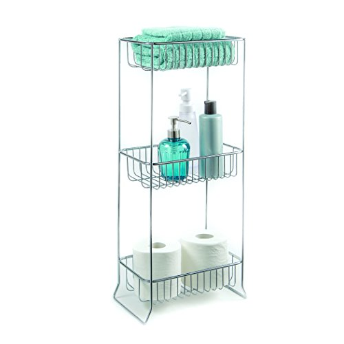 Homecrate bathroom accessories rectangle stand open wire for Bathroom accessories stand