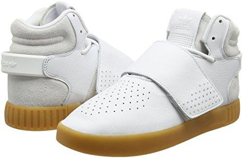 Pour Gum1 Couleurs Diverses Tubular Invader Strap Baskets Negbas Hommes Adidas ftwbla zI6q7Tg