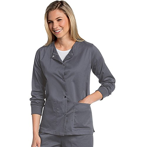 Snap Front Warm Up Scrub - 9