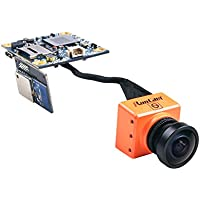 Crazepony Split RunCam 3 FPV Camera 2.5mm FOV130 1080P/60fps HD Recorder Support 64G TF NTSC Low Latency TV-out with WDR Wifi for Multicopter