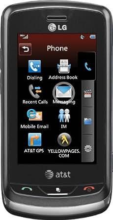 LG Xenon GR500 Phone, Black (AT&T)