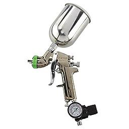1.5mm Hvlp Gravity Feed Spray Gun W/ Gauge