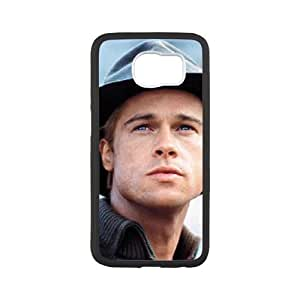Brad Pitt For Samsung Galaxy S6 Cases Cell phone Case Gixq Plastic Durable Cover