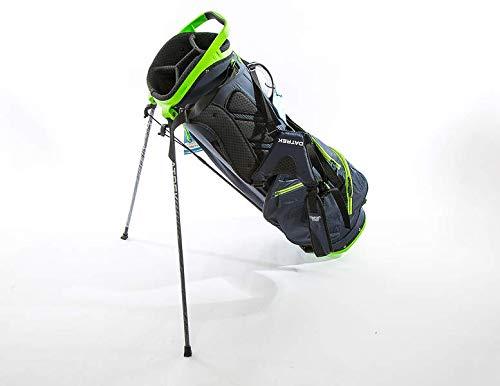 (Datrek Golf Trekker Ultra Lite Stand Bag (Navy/Lime))