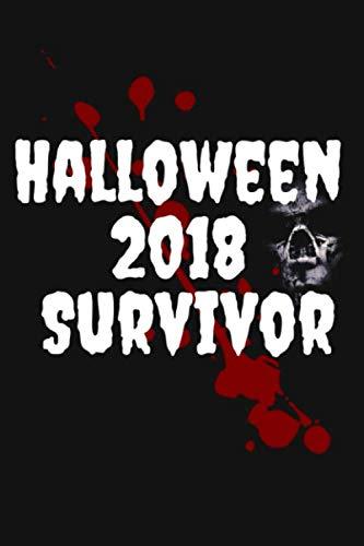 Halloween 2018 Survivor: Truck or Treat Scary Halloween Lined Journal