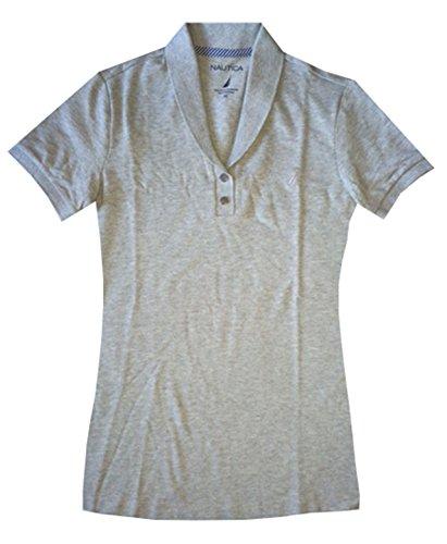 Nautica Women Shawl Collar Shirt