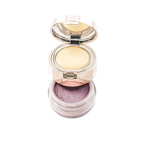 ONLY MINERALS Lip Duo - Nourishing 2-in-1 Powder Lipstick (0.4 oz) and Soft Lip Balm (0.14 oz) Duo - ()