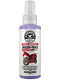 Chemical Guys MTO10004 Moto Line Full Cycle Waterless Wash/Wax Cleaner/Protectant for Motorcycles, 4 fl. oz, 1 Pack