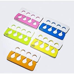 Toe Separators Set – Premium Pedicure Tool Kit 24 PCS Super Soft & Durable Two Tone ZMOI