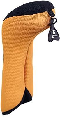 Stealth Club Covers 16050INT Fairway Wood ID 7-9-X Golf Club Head Cover, Yellow/Black