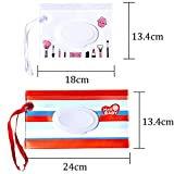 5 Pack Baby Wipes Dispenser, Reusable Wet Wipe