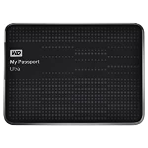 (Old Model) WD My Passport Ultra 1 TB Portable External USB 3.0 Hard Drive with Auto Backup, Black