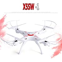 Cewaal X5SW-1 4-Axis Quadcopter 2.4Ghz headless Wifi Wireless Remote Control Helicopter Drone Aircraft UAV Light