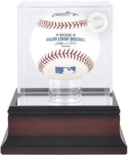 Minnesota Twins Antique Mahogany Baseball Logo Display Case ()