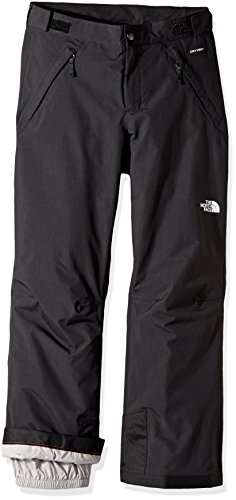 The North Face Big Girls' Freedom LRBC Insulated Pants - black, s/7-8