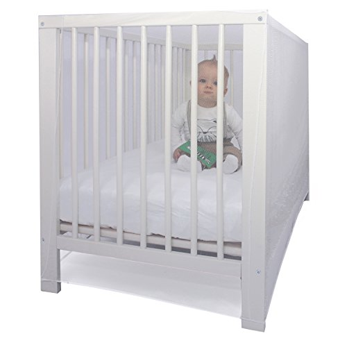 PREMIUM BABY CRIB MOSQUITO NET by EVEN Naturals, fits most B