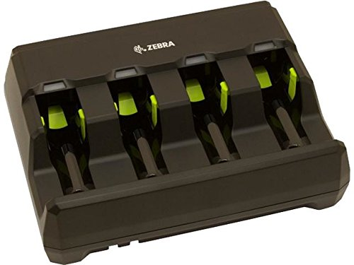 Zebra Enterprise SAC3600-4001CR Battery Charger with Power Supply for 3600 Series Battery, 4 Slot Without AC Line Cord