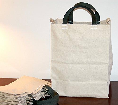 【感謝価格】 TurtlecreekコットンキャンバスReusable Grocery Short Tote Grocery Bags – Short gray-slateハンドル – Regular – Size – 5パック B077F49P8N, ST-SERVICE:3b3b2e96 --- arianechie.dominiotemporario.com