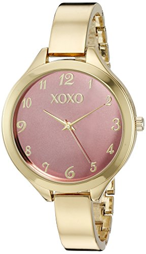 Xoxo women 39 s quartz metal and alloy watch color gold toned model xo282 mypointsaver for Watches xoxo