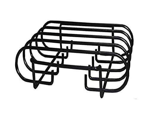 BBQ funland (1-pack) porcelain coated steel Non-Stick Roasting / Rib Rack