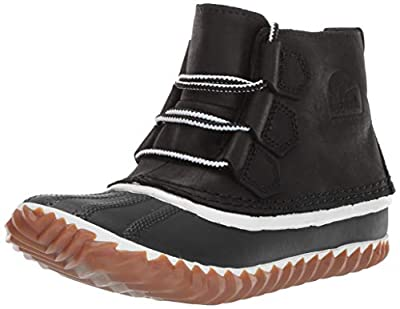 Sorel Women's Out N about Leather Snow Boot