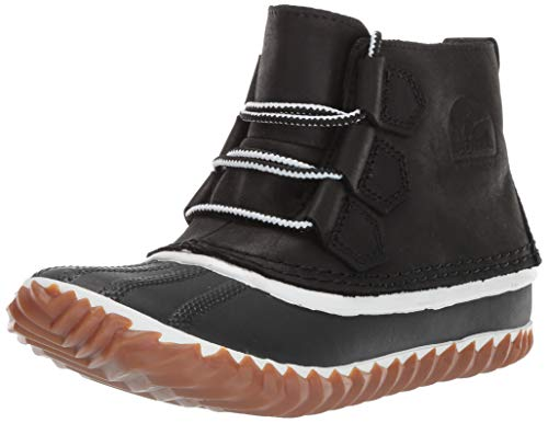 Image of Sorel Women's Out N About Leather Rain Snow Boot