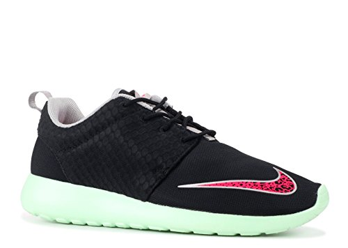 NIKE Men's Rosherun FB Black/Pink Flash-Fresh Mint-Chrome 580573-063 Shoe 8.5 M US Men