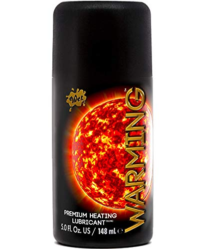 Wet Warming Premium Heating Personal Lubricant 5.0 oz (Wet Intimate Lube Warming)
