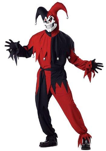 Vile Jester Adult Costume (Jester Skeleton)