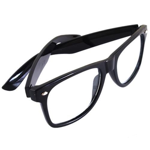 Montura para Gafas negra Glasses Cristal Transparente  Amazon.es  Deportes  y aire libre f6647f69c933