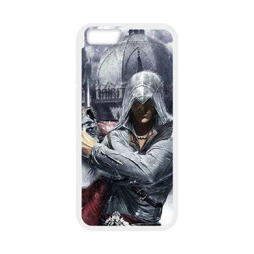 Ezio Auditore Da Firenze 018 coque iPhone 6 4.7 Inch Housse Blanc téléphone portable couverture de cas coque EOKXLLNCD15470