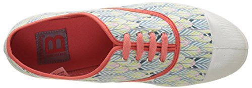 Bensimon Tennis Lacet Plumes - Botas Mujer Naranja (Corail)