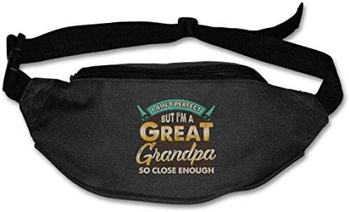グレートおじいちゃんユニセックスアウトドアファニーパックバッグベルトバッグスポーツウエストパック