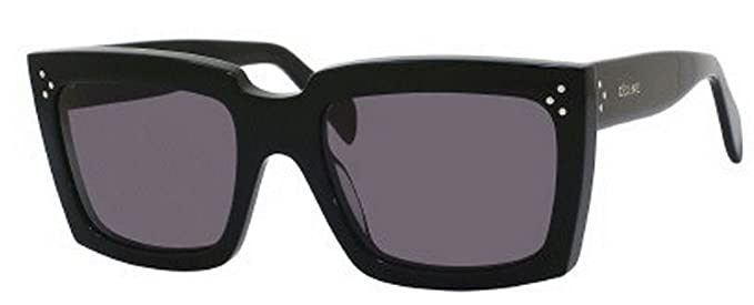 Amazon.com: Celine 41800/S – Gafas de sol, negro: Clothing
