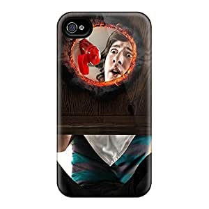 Bumper Cell-phone Hard Covers For Iphone 4/4s With Allow Personal Design Attractive Hot Series KellyLast