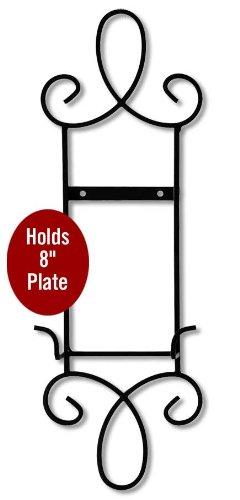 Metal Scroll Single Plate Rack Narrow