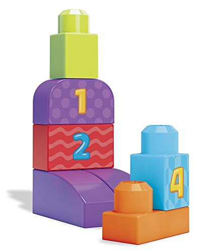 Mega Bloks 1-2-3 Count! Bag - Packaging Colors May Vary