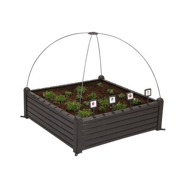 Curver Serra Raised Garden Bed Marrone 3 spesavip
