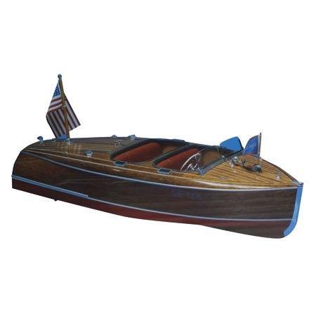 - Dumas Products, Inc. 1940 19' Chris Craft Barrel Back Boat Kit, DUM1234