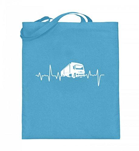 Shirtee 6GCUGV1L_XT003_38cm_42cm_5739 - Bolso de tela de algodón para mujer Azul azul 38cm-42cm Azul Claro