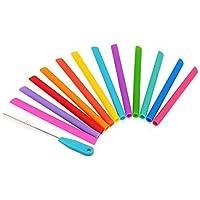 Housavvy Kids Silicone Straw (smoothie straw)